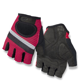 Giro Siv Gants, bright red/stripe